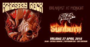 Kingsday Rock - W// Sunburn, Fuzzboar, Breakfast at Midnight @ Poppodium Ede